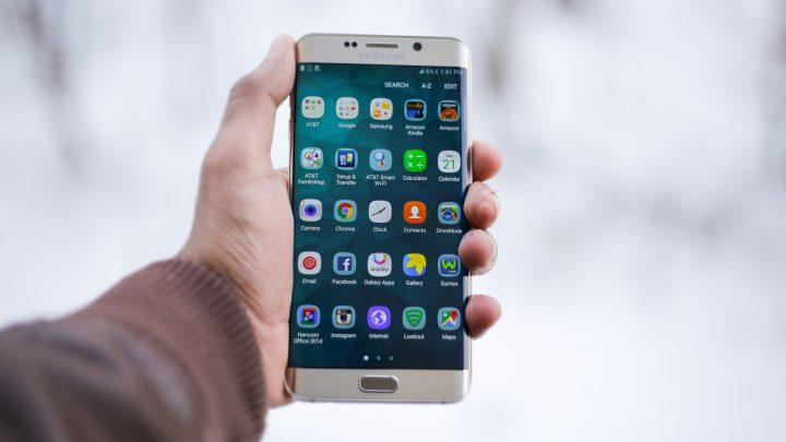 Nowoczesny smartfon od Samsunga